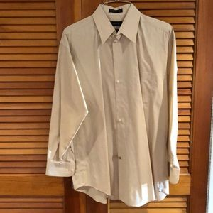 Claiborne Wrinkle Free Relief Collar Dress Shirt